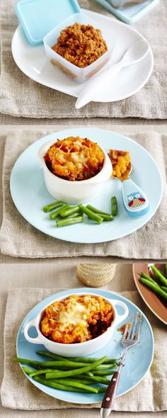 Mini Shepherd's Pies. A delicous classic meal with a twist. #Woolworths #recipe #1recipe3ways https://woolworthsbabyandtoddlerclub.com.au/recipe/mini-shepherds-pies/?utm_source=pinterest&utm_medium=social&utm_campaign=Christmas