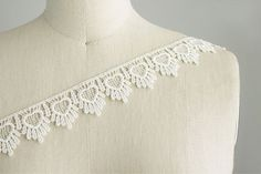 Lindsay ballerina Small Hearts Small Fringe Lace by CraftCabaret