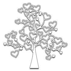 Penny Black - Die - Tree of Love,$19.99