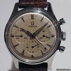 Omega Seamaster Chronograph 321 vintage