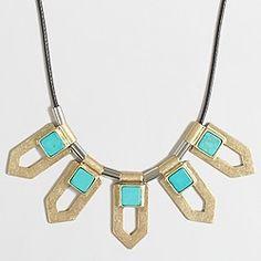 Factory metal arrows cord necklace