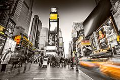 New York City - Times Square by Torsten-Hufsky.deviantart.com on @deviantART