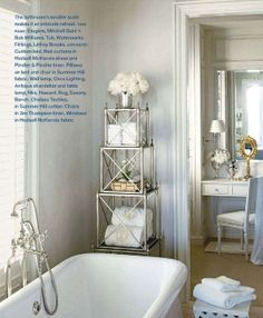 Bathroom Etagere Decorating Ideas moroccan theme powder roomanything but plain :: note the light