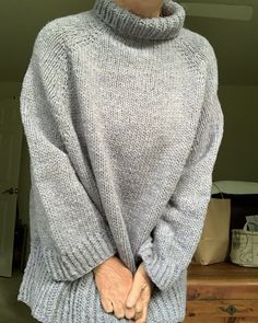 Photos of My Turtle Dove Sweater, which is a #freepattern / Poncho – New England's Narrow Road - Read about my sweater knitting adventures. #knittingblog #turtledovesweater #handknits #lovetoknit