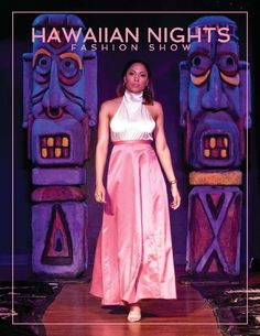 Hawaiian Nights Fashion Show, directed and produced by Antoinette Titus