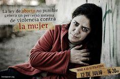 Aborto en la legislatura de la Ciudad de Buenos Aires.  ---  La ley de aborto no punible perjudica a las víctimas de abuso y deja impunes a los violadores. Sumate a la marcha en la legislatura el 12 de julio a las 16.30. Ni víctimas de aborto, ni víctimas de violación!