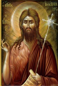 Visit the post for more. Religious Icons, Religious Art, Jesus Drawings, Faith Of Our Fathers, Byzantine Icons, Jesus Pictures, Catholic Prayers, John The Baptist, Orthodox Icons