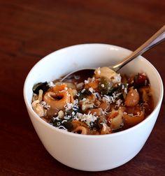 Crock Pot Improvisation   Sausage White Bean Soup With Tortellini