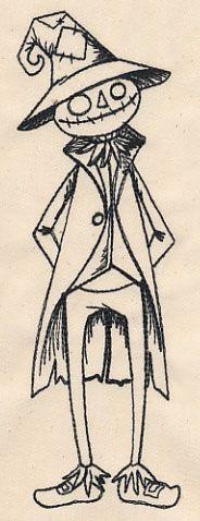 Oz - Scarecrow design (UT8261) from UrbanThreads.com