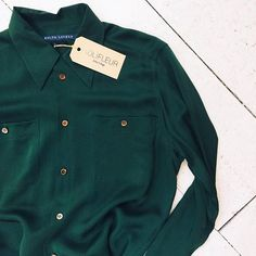 Ralph Lauren blouse [size M] #kolifleur #sustainablefashion  by @weirdnomad