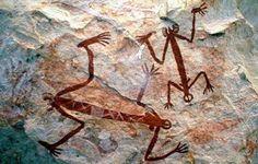 Arte rupestre aborigen, Australia                                                                                                                                                      Mais