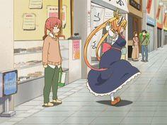 10 Epic GIF of Tohru from Miss Kobayashi's Dragon Maid
