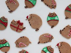 Learn how to make Pusheen holiday cookies at home from Food.com.