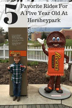 Five Favorite Rides For A Five Year Old At Hersheypark #HersheyPA