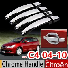 $18.12 (Buy here: https://alitems.com/g/1e8d114494ebda23ff8b16525dc3e8/?i=5&ulp=https%3A%2F%2Fwww.aliexpress.com%2Fitem%2FFor-Citroen-C4-2004-2010-Chrome-Handle-Covers-Trim-Set-for-Coupe-Hatch-Sedan-Pallas-Car%2F32675119002.html ) For Citroen C4 2004-2010 Chrome Handle Covers Trim Set for Coupe Hatch Sedan Pallas Car Accessories Stickers Car Styling 2008 for just $18.12