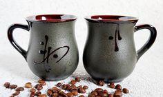 Black ceramic tea mug set Ladies gift for new mom Graduation