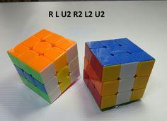 Patron Rubik 3x3 Figura N. 7 por WL Rubik 3x3