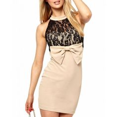 Cheap Arrogant Apricot Lace Mini Dress with High Neck online - All Products,Fashion Dresses,Mini Dresses Cheap Dresses, Sexy Dresses, Casual Dresses, Fashion Dresses, Mini Dresses, Fashion Corner, Beige Dresses, Types Of Dresses, Clubwear