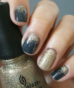 Love these colours nail polish pinterest on glitter and nails kiko 381 china glaze im not a lion prinsesfo Images