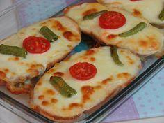 Yoğurtlu Ekmek Dilimleri Resmi