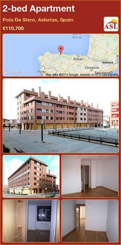 2-bed Apartment in Pola De Siero, Asturias, Spain ►€110,700 #PropertyForSaleInSpain