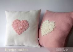 Cuddly Soft Decorative Kissen Valentines Day Gift. €21.90, via Etsy.