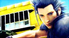 Zack Fair. Final Fantasy VII: Advent Children Complete.