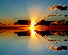 Reflections sunset by Péter Antal Vincze