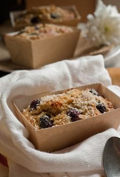moelleux_myrtille_sokeen_5 Biscuits, Oatmeal, Sweet Treats, Deserts, Brunch, Low Carb, Healthy Recipes, Cooking, Breakfast