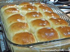 Sweet Bread Dinner Rolls