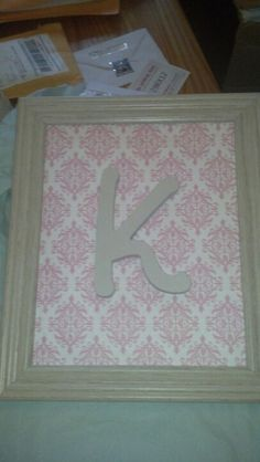 Another monogram gift - this one by request