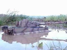 RC Panzer Tiger I Tank 1:16 Wasserdicht und Schwimmfähig