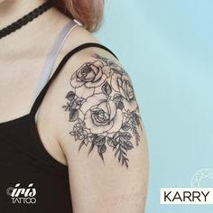 #tattoo #tattooed #tattoolife #tatuaje #tattooartist #tattoostudio #tattoodesign #tattooart #customtattoo #ink #wynwoodmiami #wynwoodart #wynwood #wynwoodtattoo #miamiink #miamitattoo #tattoomiami #rose #roses #rosetattoo #flowers #flowertattoo #blackworktattoo #finelinetattoo #dotworktattoo