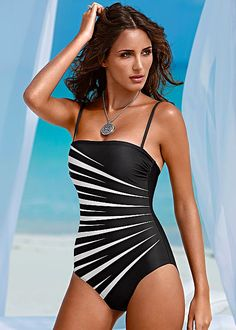Shaper bandeau one piece from VENUS Swimsuit Selection