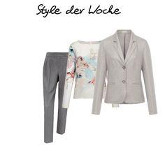 Ein Outfit für Business oder Alltag mit dem Blazer von Basler!