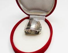 Antiker Silberbesteck-Ring Silberring 19,5 SR126 von Atelier Regina auf DaWanda.com