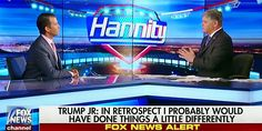 Behold the litany of excuses he gave truth-seeker Sean Hannity.