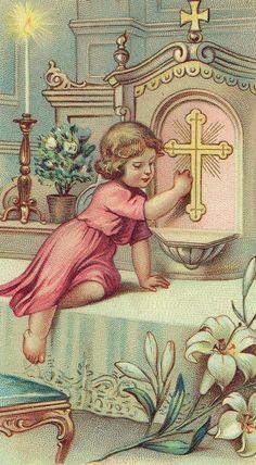 Abre Jesús, ven a jugar conmigo. Avísale a Tu Madre. Dile a José, que vienes para acompañarme. Soy tu amigo !!!