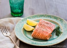 Learn how to steam salmon. Easy, fast and healthy, it takes just minutes. Serve with lemon wedges or creamy horseradish sauce