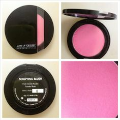 Make Up For Ever – Sculpting Blush Satin Indian Pink the Sculpting Blush is an oil-free powder blush, which comes in a slim compact case. Makeover App, Sculpting, Make Up, Fragrance, Blush, Eyeshadow, Satin Finish, Beauty, Maquillaje