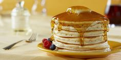 Cooked to a fluffy golden-brown, these pancakes are truly the only recipe you'll ever need.