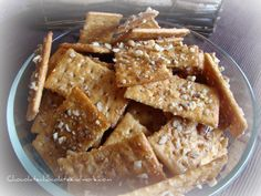 Chocolate, Chocolate and more...: Sweet and Salty Crackers