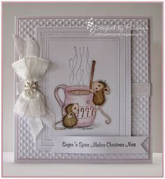 House-Mouse & Friends Monday Challenge: *White on White* for Challenge #HMFMC181