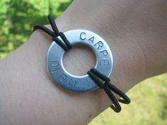 Carpe Diem Bracelet $10.00