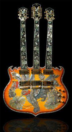 Minarik Trinity Tripleneck Guitar.