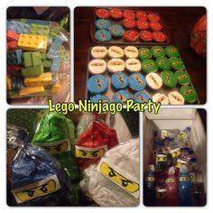 My son's Lego Ninjago Party