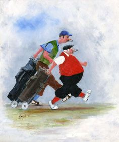 '19th in sight' -from Des Brophy. Great pipe friendly art.