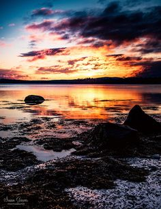 https://flic.kr/p/ZFZLqp | Sunrise in Maine