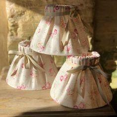 Linen Pleated Lampshades ~ Four Sizes – Scumble Goosie Edison Lighting, Pendant Lighting, Handmade Lampshades, Table Lamp Base, Lamp Shades, Soft Furnishings, Interiors, Pretty, Shop