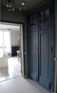 Placard Avec Des Portes Anciennes ID Pinterest Portes - Porte placard coulissante jumelé avec porte d entrée appartement blindée
